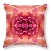 Valley Porcupine Abstract Throw Pillow