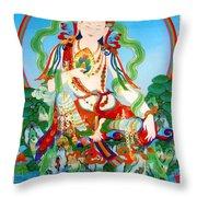 Vasudhara 3 Throw Pillow