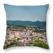 Velika Kladusa Bosnia Throw Pillow