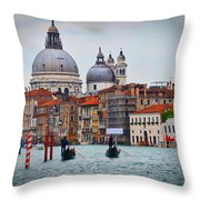 Venice Italy Throw Pillow