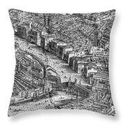 Venice: Rialto Bridge Throw Pillow