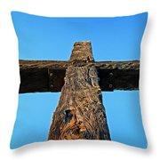 Ventura Cross Throw Pillow