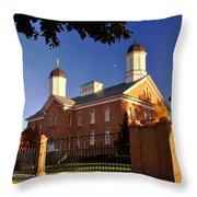 Vernal Utah Lds Temple Throw Pillow