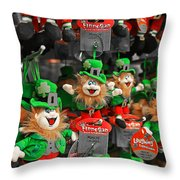 Very Irish  Throw Pillow