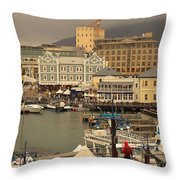 Victoria And Albert Waterfront Throw Pillow