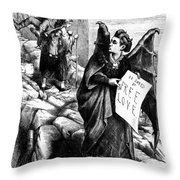 Victoria Claflin Woodhull (1838-1927) Throw Pillow