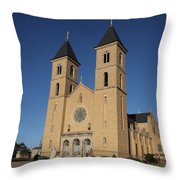 Victoria Kansas - Cathedral Of The Plains Throw Pillow