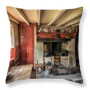Victorian Cottage Throw Pillow