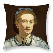Victorine Meurent Throw Pillow