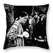 Vietnam War Protest Throw Pillow