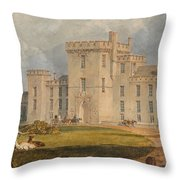 View Of Hampton Court Throw Pillow