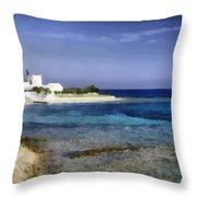 Greek Villa Throw Pillow