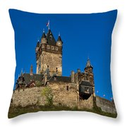 Village Of Cochem Throw Pillow