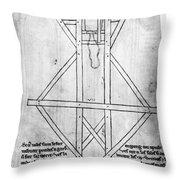 Villard De Honnecourt (c1225-c1250) Throw Pillow
