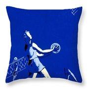 Vintage Poster - Wpa - Athletics 2 Throw Pillow