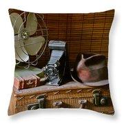 Vintage Vignette Throw Pillow