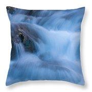 Virgin River Rapids Throw Pillow