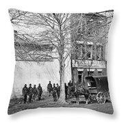 Virginia Slave Dealer Throw Pillow
