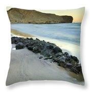 Volcanic Rocks Throw Pillow