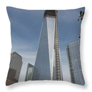 1 W T C And Museum Throw Pillow
