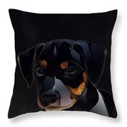 Waiting For The Word Throw Pillow