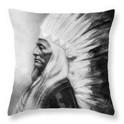 Washakie (1804-1900) Throw Pillow