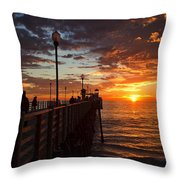 Watch With Me Throw Pillow