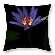 Lotus Bloom 2 Throw Pillow