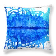 Water Variations 14 Throw Pillow