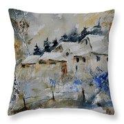 Watercolor 419082 Throw Pillow