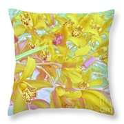 Giggling Watercolor Photography Throw Pillow