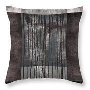 Watershed Abstract Throw Pillow
