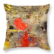 We All Bleed The Same Color II Throw Pillow