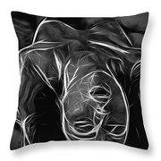 We Fade To Grey Throw Pillow