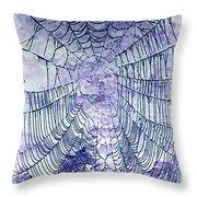 Web2invert Throw Pillow
