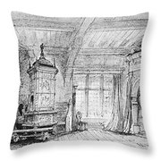 Weber Der Freischutz, 1821 Throw Pillow