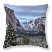 Welcome To Yosemite Throw Pillow