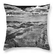 West Rim Grand Canyon National Park Throw Pillow