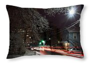 Westchester Avenue Throw Pillow