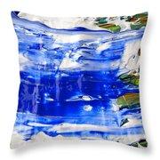 Wet Paint 54 Throw Pillow