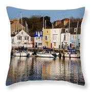 Weymouth In The Water Throw Pillow