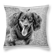 What A Tongue Throw Pillow