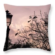 When The Lights Are Down Throw Pillow