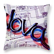 Where Legends Are Born Throw Pillow by Gabe Arroyo