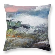 Whiskeytown Throw Pillow