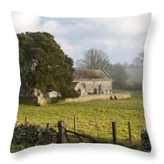 Whitcombe Church Throw Pillow