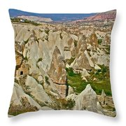 Who Lives Here In Cappadocia-turkey  Throw Pillow
