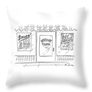Wikileaks Travel Throw Pillow
