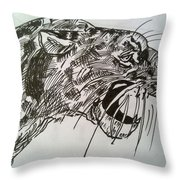 Wild Cheetah Throw Pillow