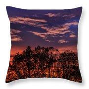 Wild West Virginia Sunrise Throw Pillow